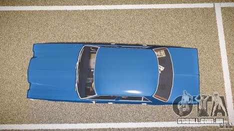 Dodge Aspen v1.1 1979 para GTA 4 vista direita