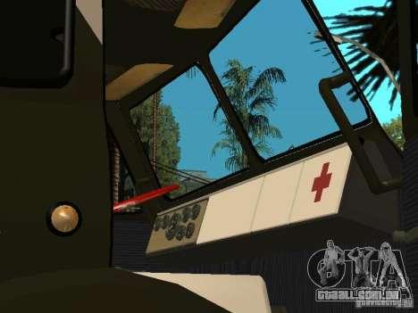 MAZ 515V para GTA San Andreas vista traseira