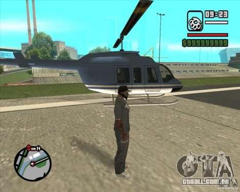 Piloto de emprego para GTA San Andreas