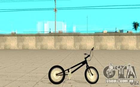 Trail Bike para GTA San Andreas esquerda vista