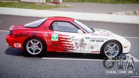 Mazda RX-7 1997 v1.0 [EPM] para GTA 4 esquerda vista