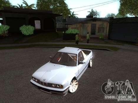 BMW E34 Pickup para GTA San Andreas esquerda vista