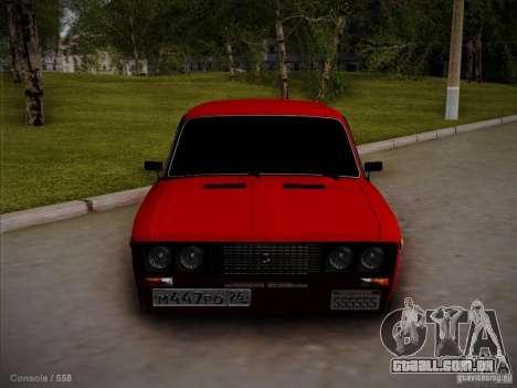 VAZ 2106 Pyatigorsk para GTA San Andreas esquerda vista
