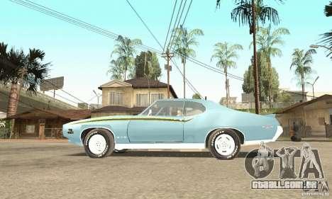 Pontiac GTO The Judge para GTA San Andreas vista direita