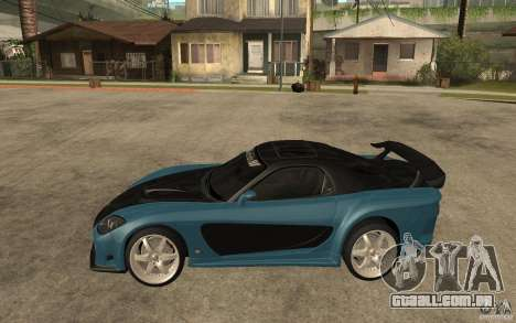 Mazda RX 7 VeilSide para GTA San Andreas vista interior