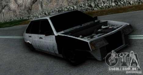 Vaz 2109 Hobo para GTA San Andreas