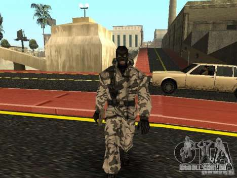 Vingador do Ártico para GTA San Andreas