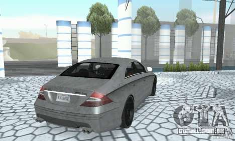 Mercedes-Benz CLS 63 AMG para vista lateral GTA San Andreas
