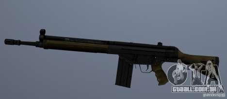 G3A3 Rifle de assalto para GTA San Andreas segunda tela