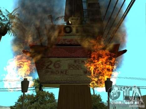 Novas texturas para casino peregrino para GTA San Andreas terceira tela