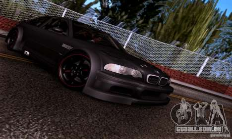 BMW M3 GTR v2.0 para GTA San Andreas vista interior