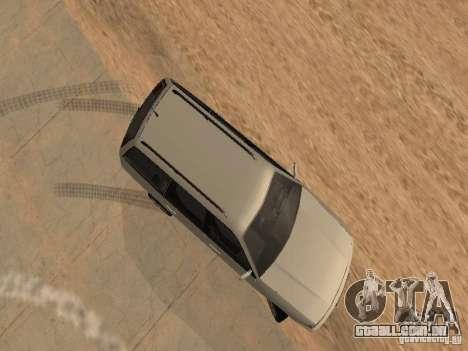 Volkswagen Passat B4 para vista lateral GTA San Andreas