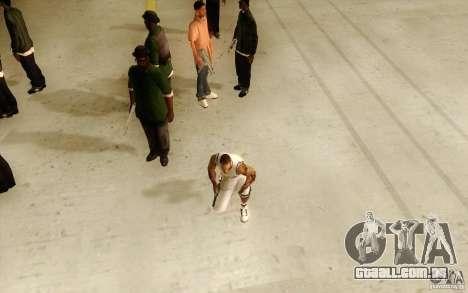 Sombras mais fortes em pedestres para GTA San Andreas segunda tela