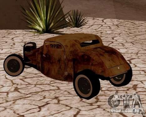 Ford Rat Rod para GTA San Andreas esquerda vista
