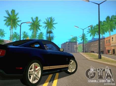ENBSeries for SA-MP para GTA San Andreas por diante tela