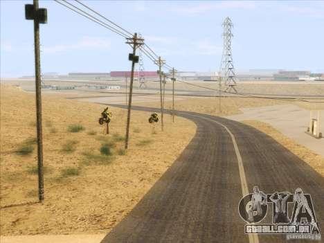 HQ Country Desert v1.3 para GTA San Andreas nono tela
