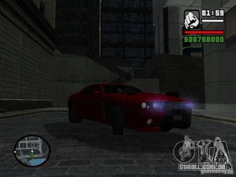 NFS Undercover Coupe para GTA San Andreas vista direita