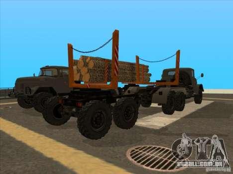 TMZ-802a para GTA San Andreas esquerda vista
