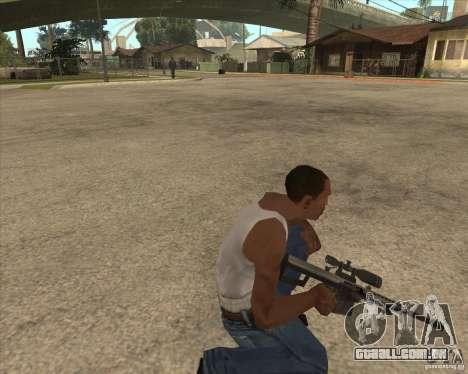 New sniper para GTA San Andreas terceira tela