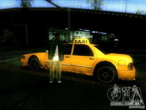 Sunrise Taxi para GTA San Andreas vista direita