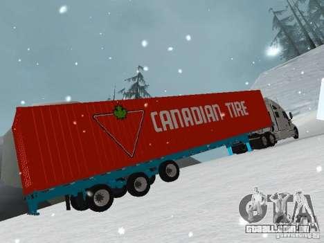 Reboque Container para GTA San Andreas
