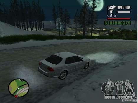 Mazda RX8 para GTA San Andreas esquerda vista