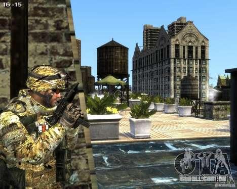 Micro Uzi para GTA 4 segundo screenshot