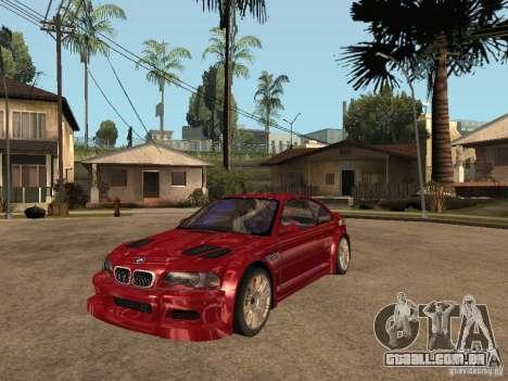 BMW M3 GTR Le Mans para GTA San Andreas