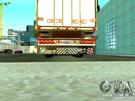 Novo trailer para GTA San Andreas vista traseira