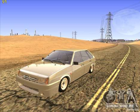 VAZ 2109 Tuning para GTA San Andreas
