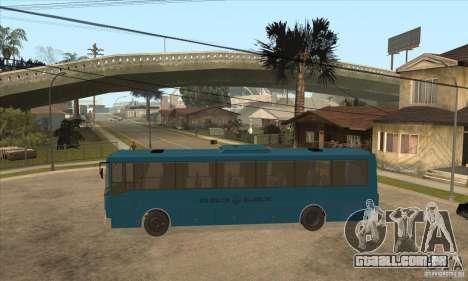 LAZ 52078 (forro-12) para GTA San Andreas esquerda vista