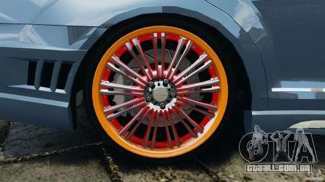 Mercedes-Benz S W221 Wald Black Bison Edition para GTA 4 interior