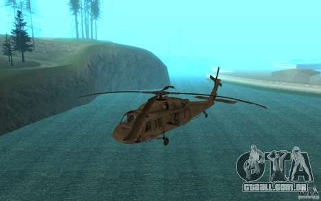UH-60 Black Hawk para GTA San Andreas