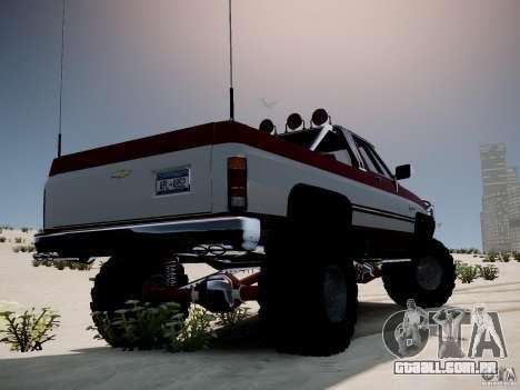 Rancher XL 3.0 para GTA 4 esquerda vista