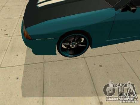 Elegy Forsage para GTA San Andreas vista traseira