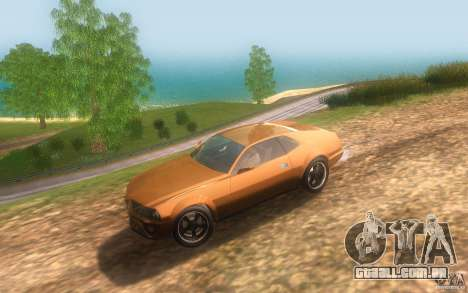 AMC Javelin 2010 para GTA San Andreas vista interior