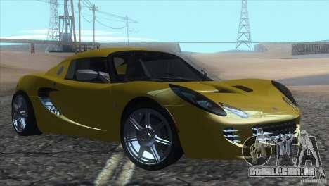 Lotus Elise para GTA San Andreas esquerda vista