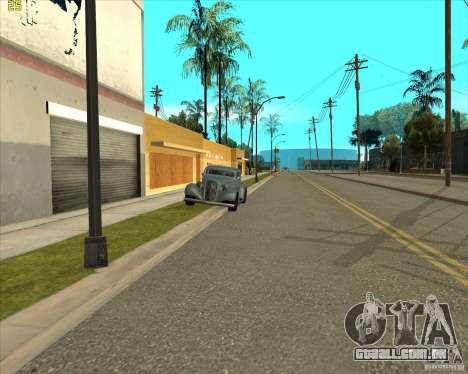 Car in Grove Street para GTA San Andreas oitavo tela