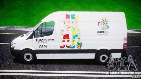 Mercedes-Benz Sprinter Euro 2012 para GTA 4 vista interior