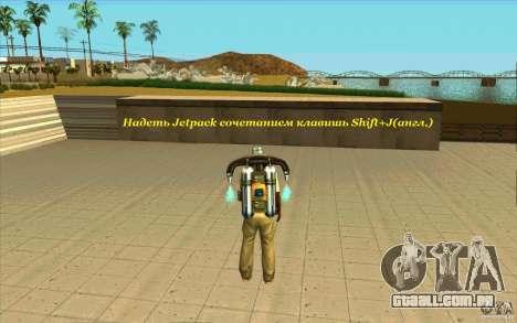 Skorpro Mods Vol.2 para GTA San Andreas por diante tela