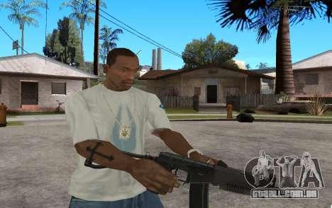 SR3M para GTA San Andreas quinto tela