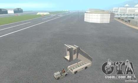 Airport Vehicle para GTA San Andreas sexta tela