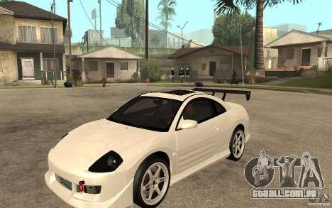 Mitsubishi Eclipse 2003 V1.5 para GTA San Andreas