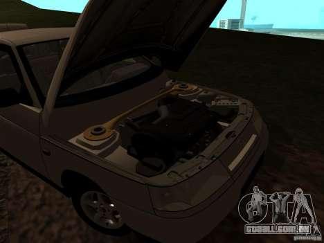 VAZ-21103 para GTA San Andreas vista interior