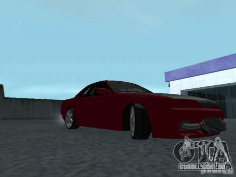 Nissan Skyline R32 Classic Drift para GTA San Andreas vista traseira