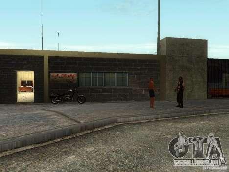 A escola realista motociclistas v 1.0 para GTA San Andreas segunda tela