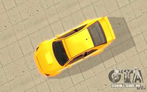 Sultan RS de GTA 4 para GTA San Andreas vista direita