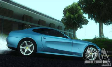 Ferrari 612 Scaglietti para GTA San Andreas vista direita