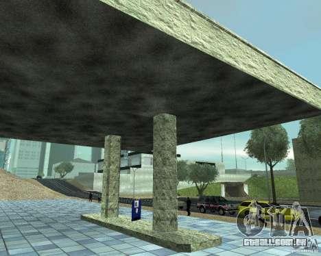 HD garagem em Doherty para GTA San Andreas terceira tela