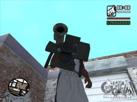 FGM-148 Dževlin para GTA San Andreas segunda tela